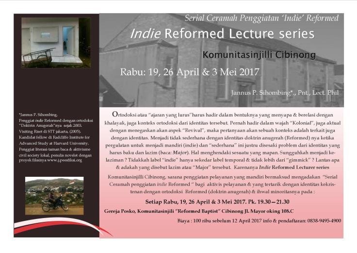 indie reformed lecturer series 3